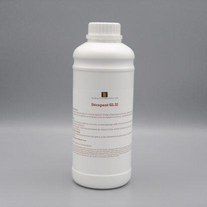 Flacon d'un litre de décapant GL 32